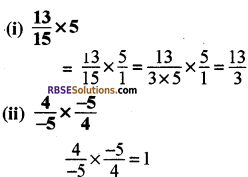 RBSE Solutions for Class 8 Maths Chapter 1 परिमेय संख्याएँ Ex 1.1 q3a
