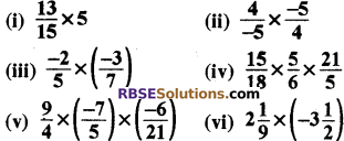 RBSE Solutions for Class 8 Maths Chapter 1 परिमेय संख्याएँ Ex 1.1 q3