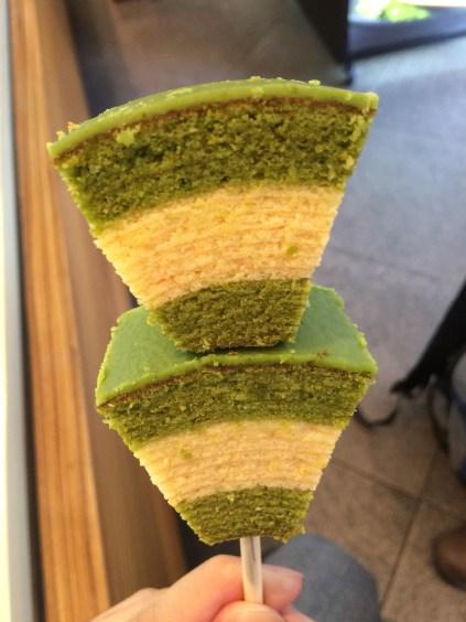 Baumkuchen cake from Otabe