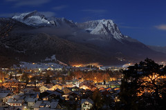 Garmisch-Partenkirchen on a Full Moon Night - 1