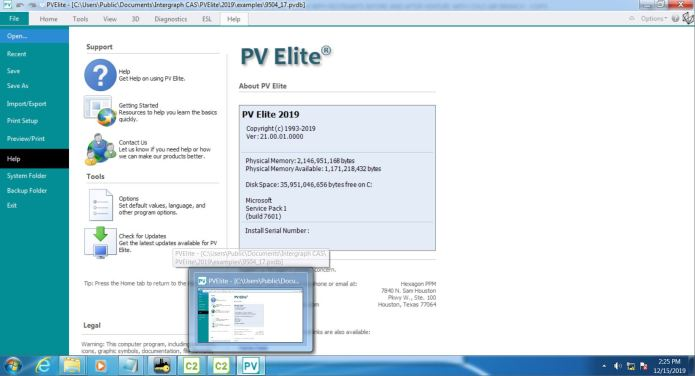 Working with Hexagon PPM COADE PV Elite 2019 SP1 v21.0.1 full license