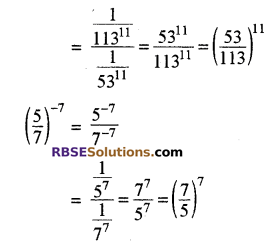 RBSE Solutions for Class 8 Maths Chapter 3 घात एवं घातांक In Text Exercise p34b