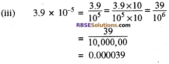 RBSE Solutions for Class 8 Maths Chapter 3 घात एवं घातांक In Text Exercise p40s