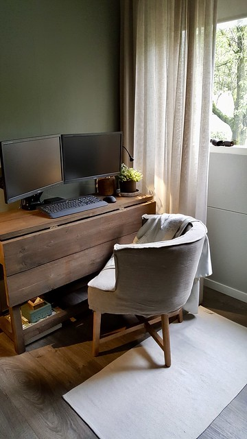 Hangoortafel fauteuil Dirkje computertafel