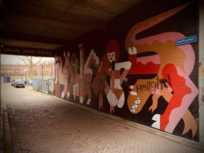 Rotterdam Daily Photo: Art bypass
