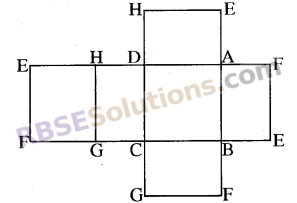 RBSE Solutions for Class 8 Maths Chapter 8 ठोस आकारों का चित्रण In Text Exercise 99a