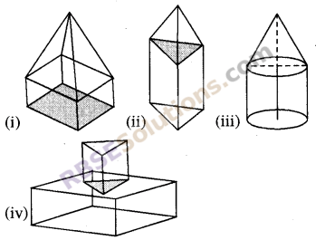 RBSE Solutions for Class 8 Maths Chapter 8 ठोस आकारों का चित्रण Ex 8.1 Q4