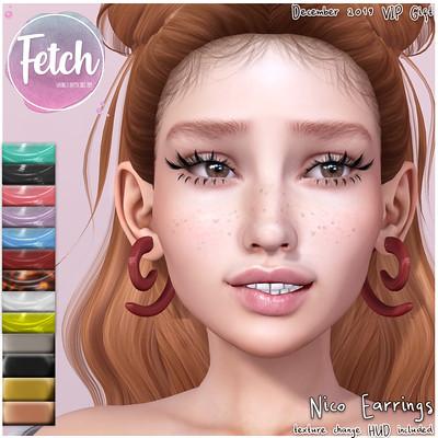 [Fetch] Nico Earrings VIP GIFT!