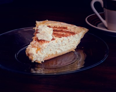 Recipe: Low Carbohydrate, Healthy Fat Egg Nog Pie