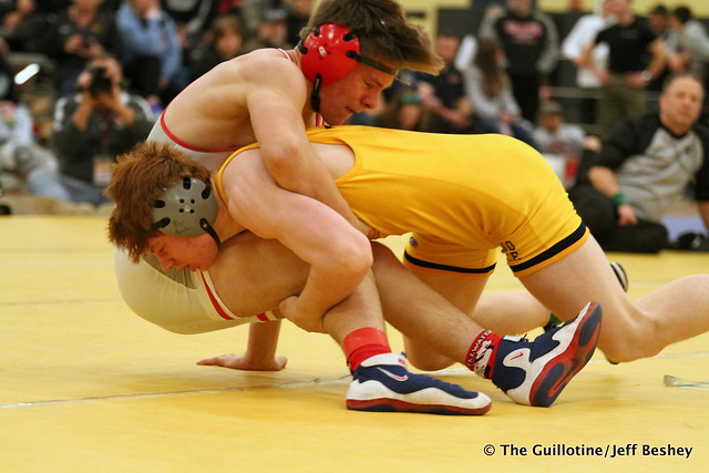 160 1st Place Match - Adam Sylvester (Totino-Grace) 14-1 won by decision over Ryder Rogotzke (Stillwater) 5-2 (Dec 13-7). 191221BJF0314