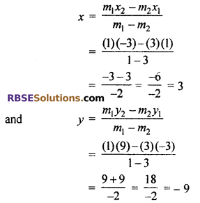 RBSE Solutions for Class 10 Maths Chapter 9 Co-ordinate Geometry Ex 9.2 5