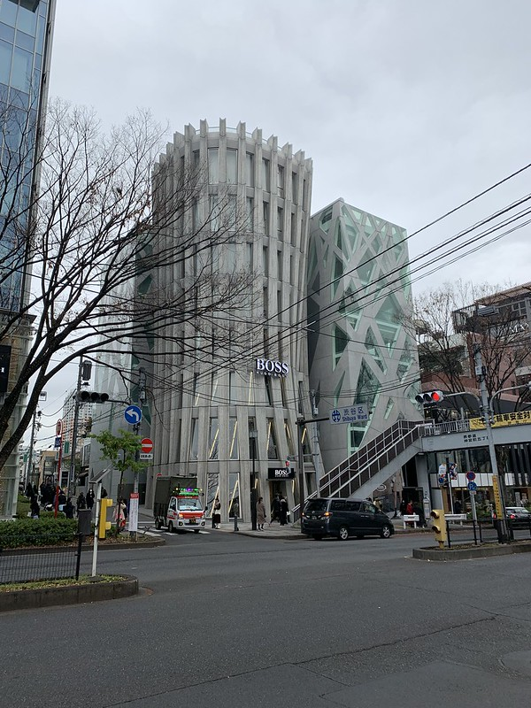 BOSS and TOD'S in Omotesando, Tokyo