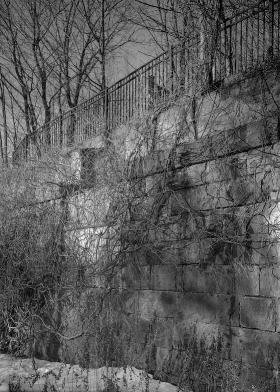 Old Railroad Trestle Structure
