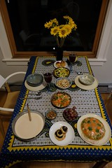 Christmas Eve dinner. Seattle 2019