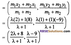 RBSE Solutions for Class 10 Maths Chapter 9 Co-ordinate Geometry Additional Questions 45