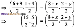 RBSE Solutions for Class 10 Maths Chapter 9 Co-ordinate Geometry Additional Questions 38