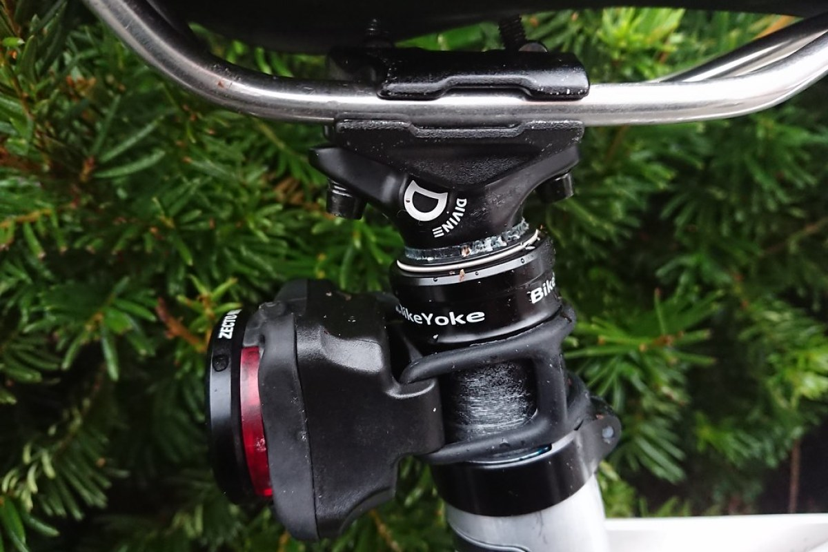 Bikeyoke Divine 185mm Dropper Post Trigger Remote Initial