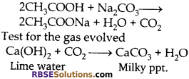 RBSE Solutions for Class 10 Science Chapter 8 Carbon and its Compounds 29