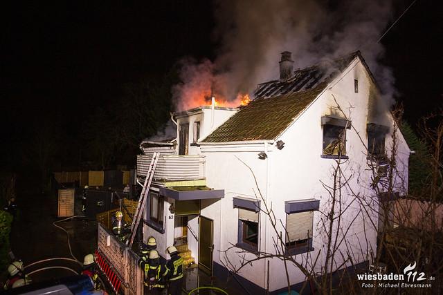 Gebäudebrand Kastel 27.12.19