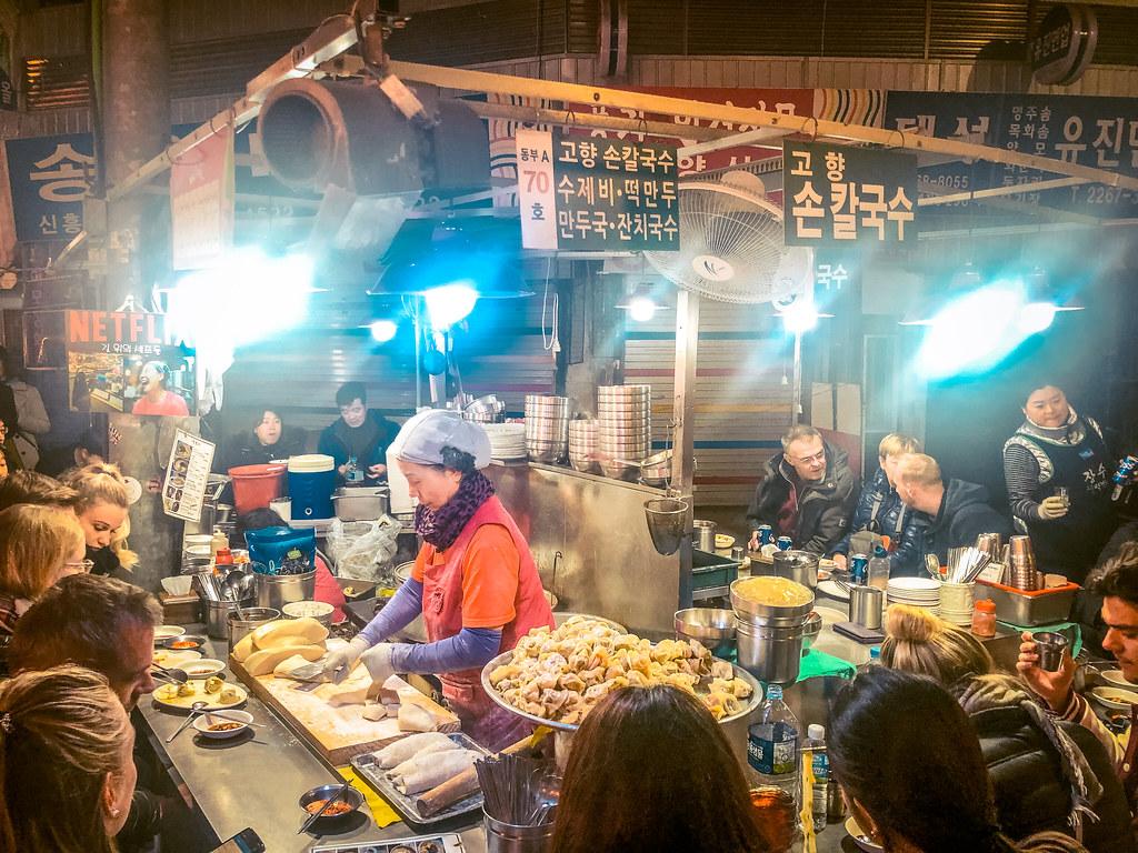 Gwangjang Market | Seoul Itinerary