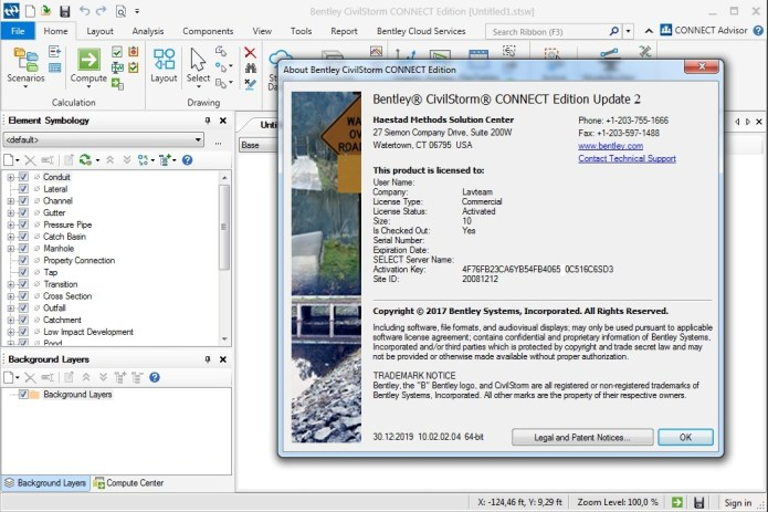 Working with Bentley CivilStorm CONNECT Edition v10.02.02.04 x64 full