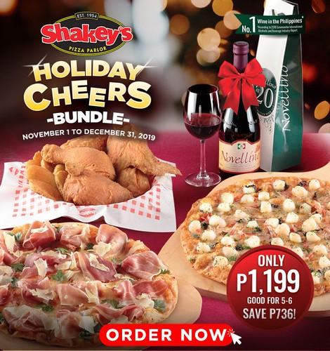 Shakey's Holiday Cheers Bundle