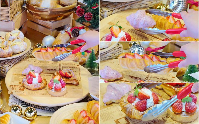麵包時刻_台中麵包:網友推薦 草莓季甜點麵包搶手登場!鹽可頌/蜂蜜桂圓麵包/起司羅宋必吃!下午1點到3點85折!
