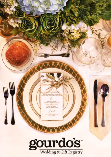 Discounts, freebies and treats await those who sign up for the Gourdo's wedding and gift registry