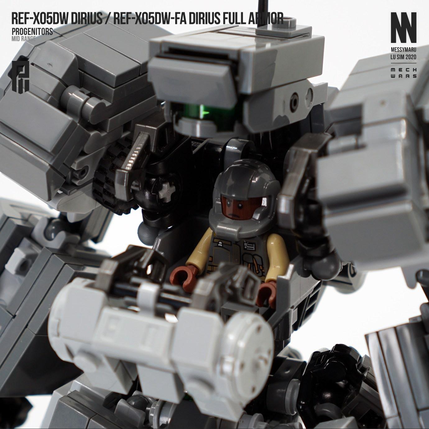 reF-X05DW Dirius / reF-X05DW-FA Dirius Full Armor