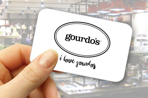 iLG card - For every P300 purchase, the iloveGourdos cardholder earns a point which has a value of P1.00 and may be used in succeeding visits