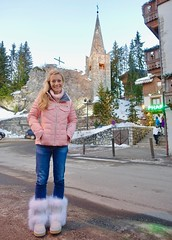 The magical village of Courchevel
