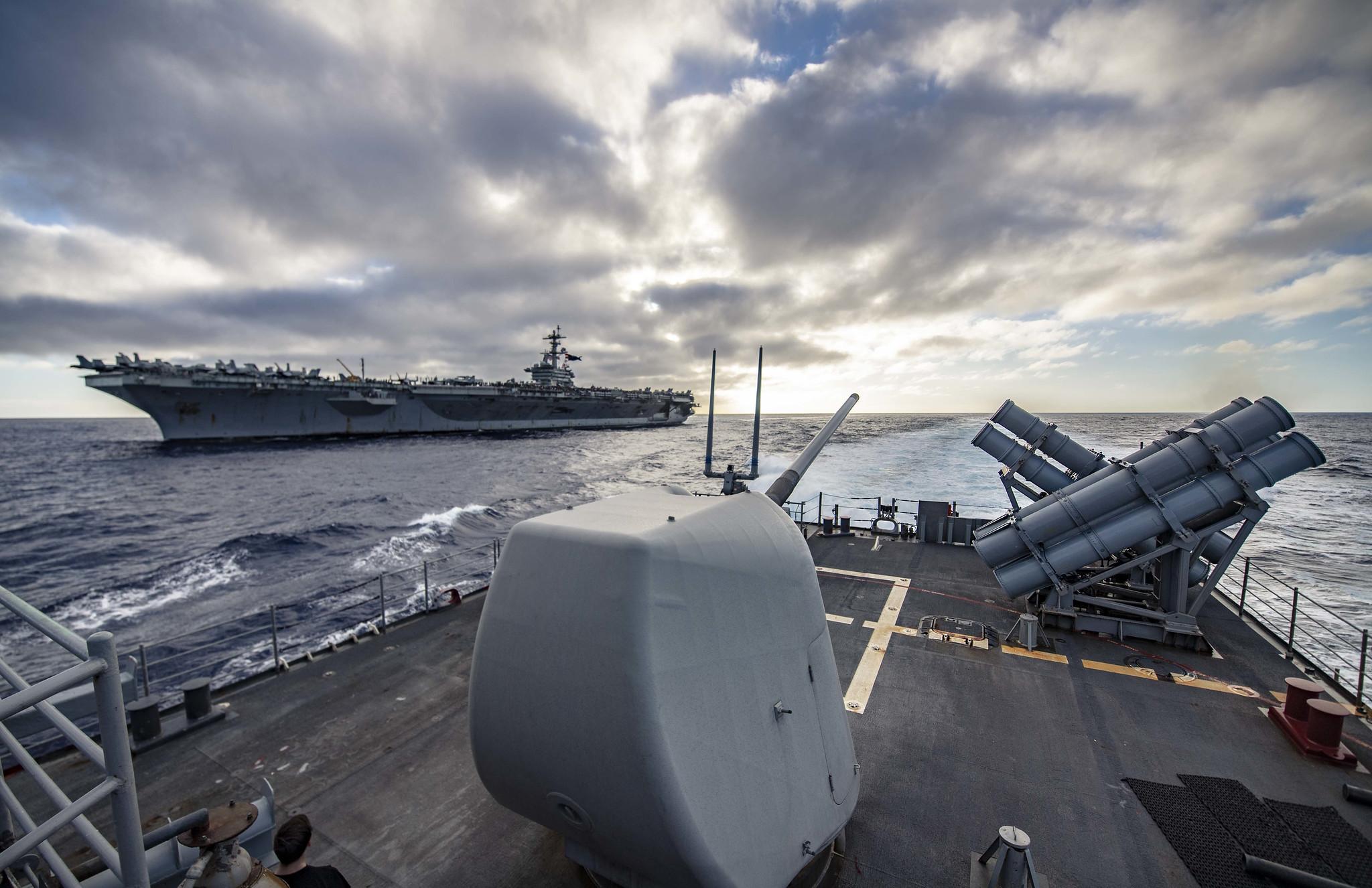 Uss Abraham Lincoln Arrives In Pearl Harbor For Port Visit