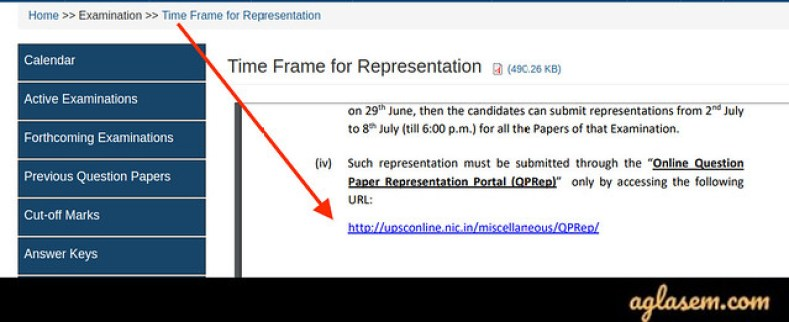 UPSC IES Question Paper Representation 2020