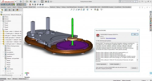 Design with SolidWorks 2020 SP1.0 full