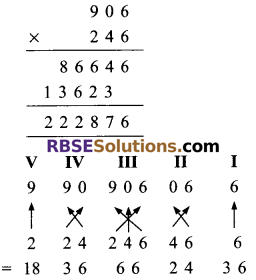 RBSE Solutions for Class 9 Maths Chapter 1 Vedic Mathematics Ex 1.3 5