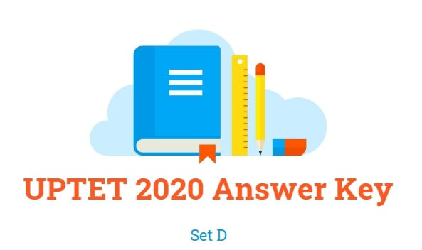 UPTET Answer Key 2020 Set D