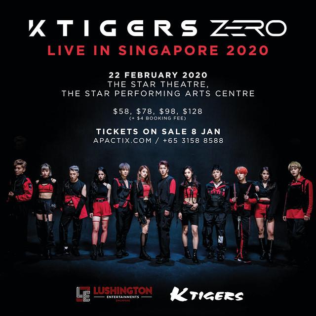 K-Tigers Zero Live in Singapore