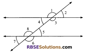 RBSE Solutions for Class 9 Maths Chapter 5 Plane Geometry and Line and Angle Miscellaneous Exercise 6