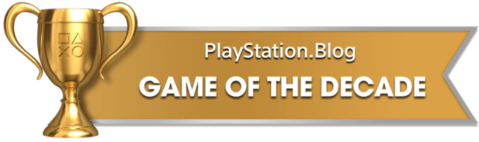 PS Blog Game of the Decade - Gold