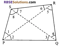 RBSE Solutions for Class 9 Maths Chapter 7 Congruence and Inequalities of Triangles Additional Questions 27