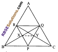 RBSE Solutions for Class 9 Maths Chapter 9 Quadrilaterals Additional Questions 21