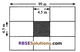 RBSE Solutions for Class 9 Maths Chapter 11 Area of Plane Figures Miscellaneous Exercise 13