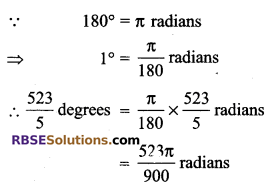 RBSE Solutions for Class 9 Maths Chapter 13 Angles and their Measurement Additional Questions 11