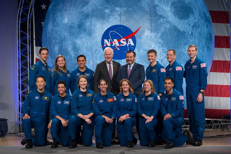 The 2017 Class of Astronauts and Texas Senators