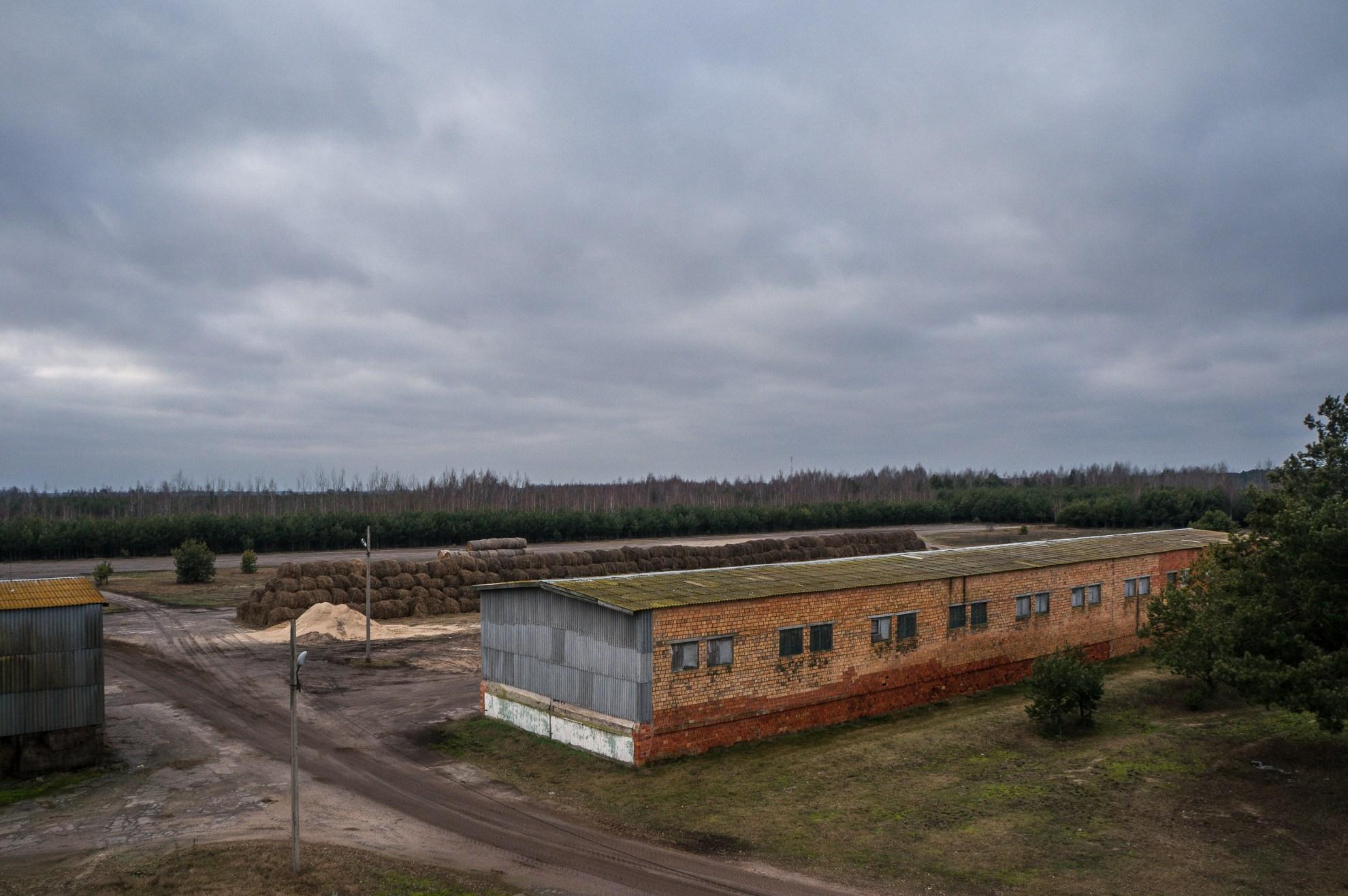 Бывший аэродром сельхоз авиации в д. Смути
