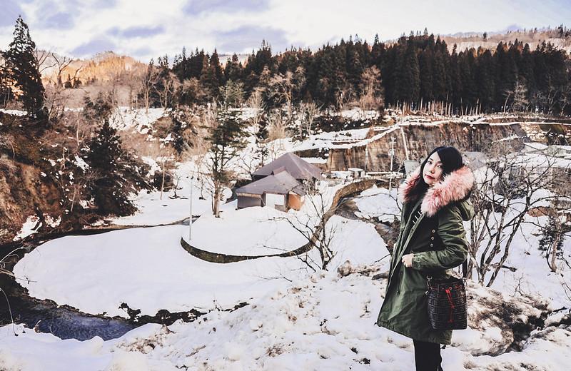 ▌日本 ▌仙台山形Day2 銀山溫泉 2度穿搭