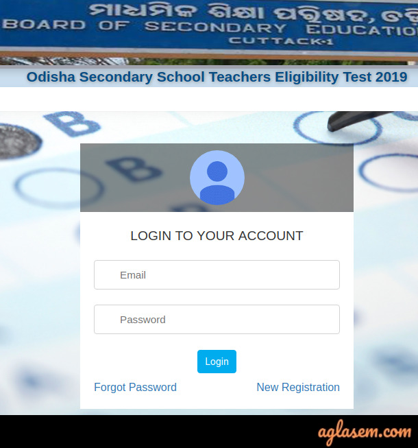 OSSTET Admit Card 2020 download
