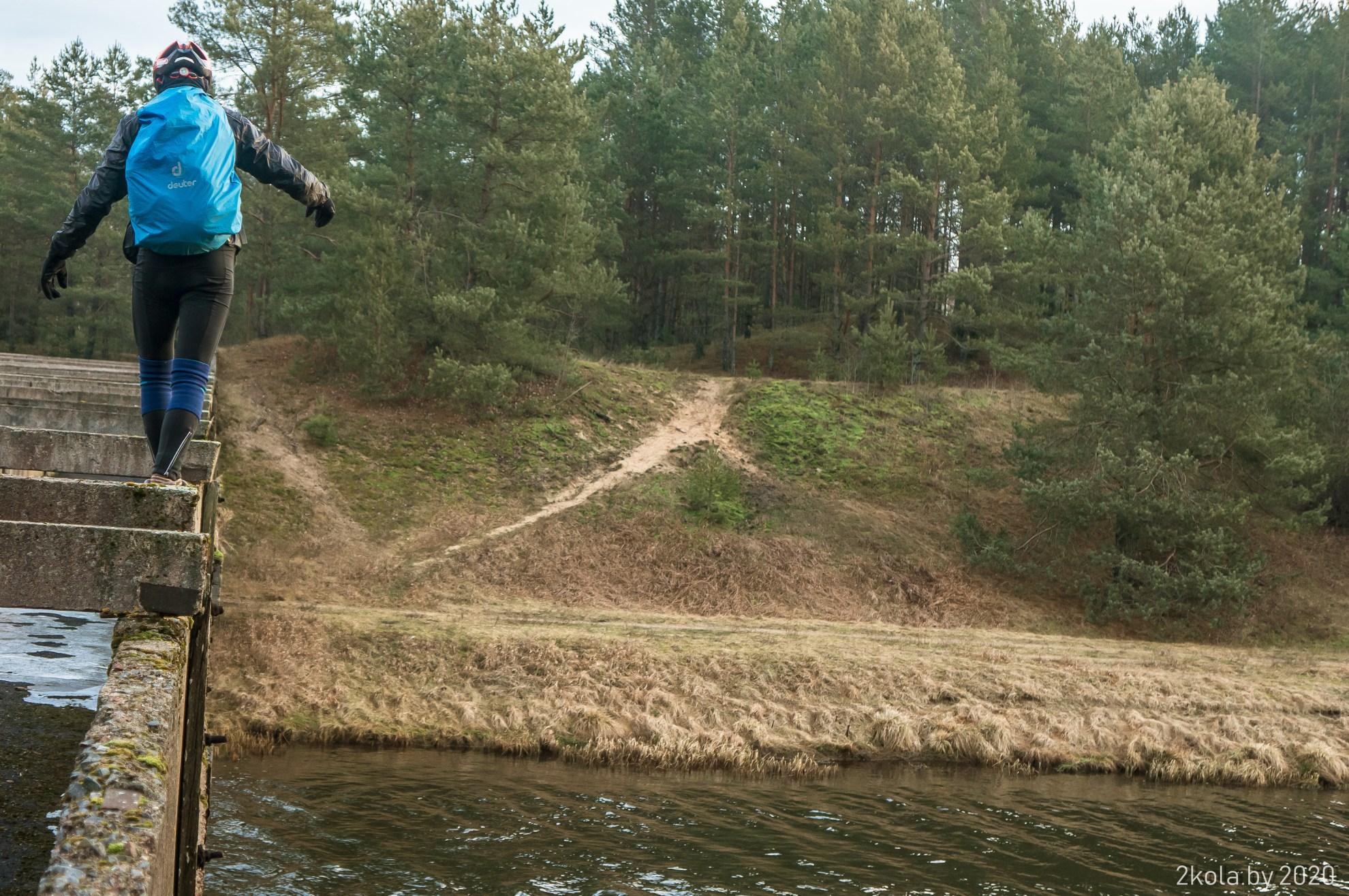 Акведук реки Конотопка канала Вилейско-Минская водной системы