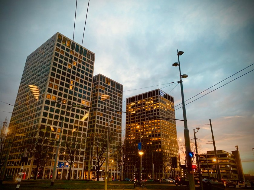 Rotterdam Daily Photo: Europoint or Lee Towers?