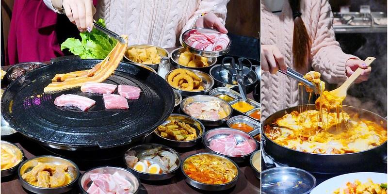 豬對有韓式烤肉吃到飽_逢甲夜市:高CP值吃到飽每人299元 11種肉/飲料冰淇淋/現炒/小菜/小火鍋/滷牛腩飯無限吃!